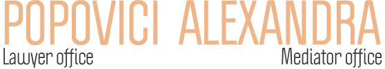ALEXANDRA POPOVICI - Avocat si Mediator